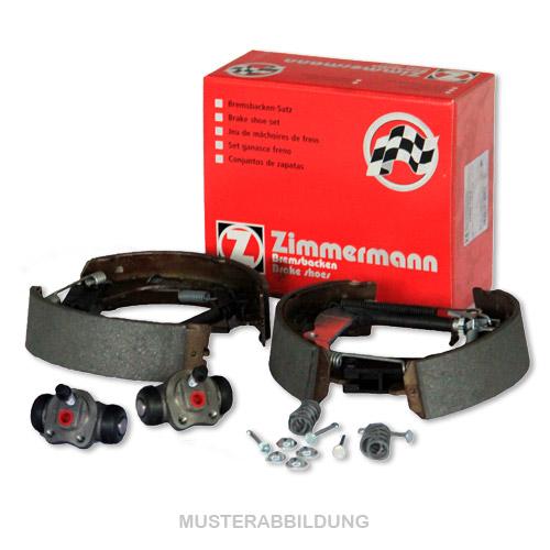 ZIMMERMANN Bremsbacken + Radbremszylinder für Renault Clio I ohne ABS Super 5