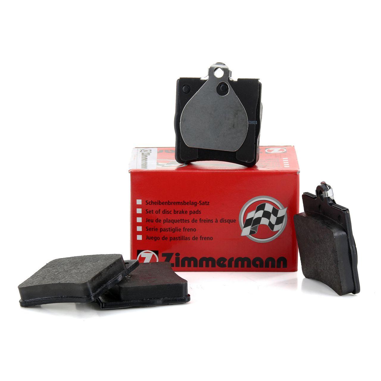 ZIMMERMANN Bremsbeläge Bremsklötze für MERCEDES W202 W203 W210 R170 R171 hinten