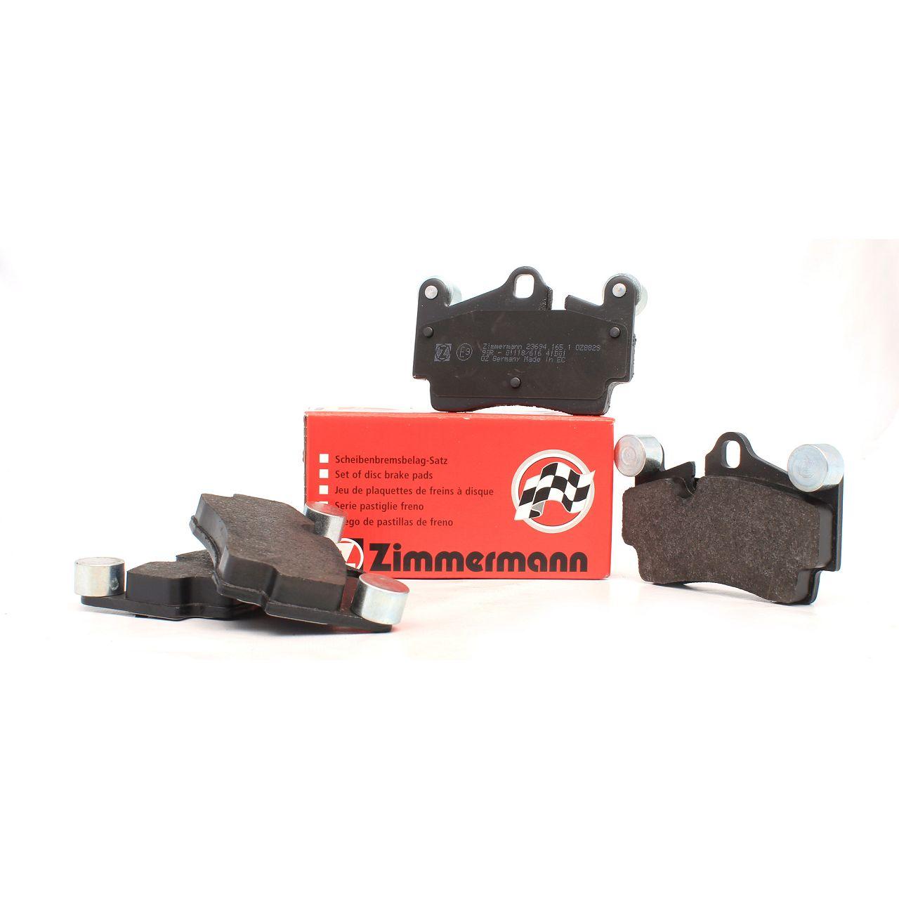 ZIMMERMANN Bremsbeläge AUDI Q7 (4L) PORSCHE Cayenne (9PA) VW Touareg (7L) hinten