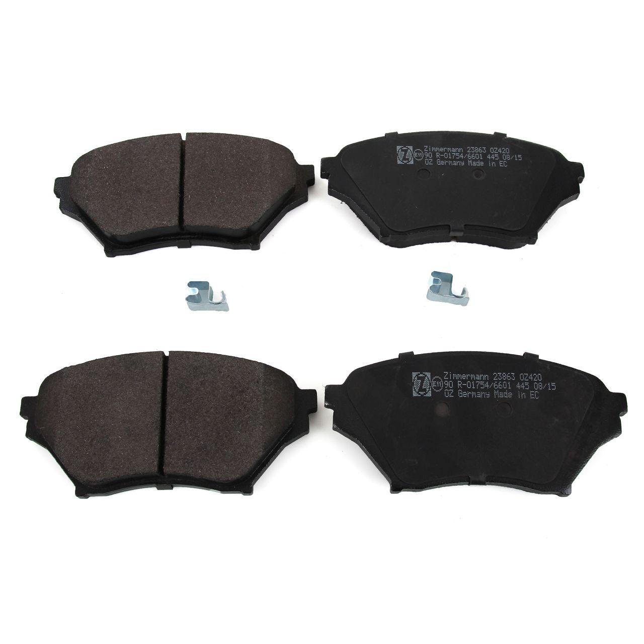 ZIMMERMANN Bremsen SPORT Bremsscheiben + Beläge für Mazda MX-5 II 1.6 1.8 vorne