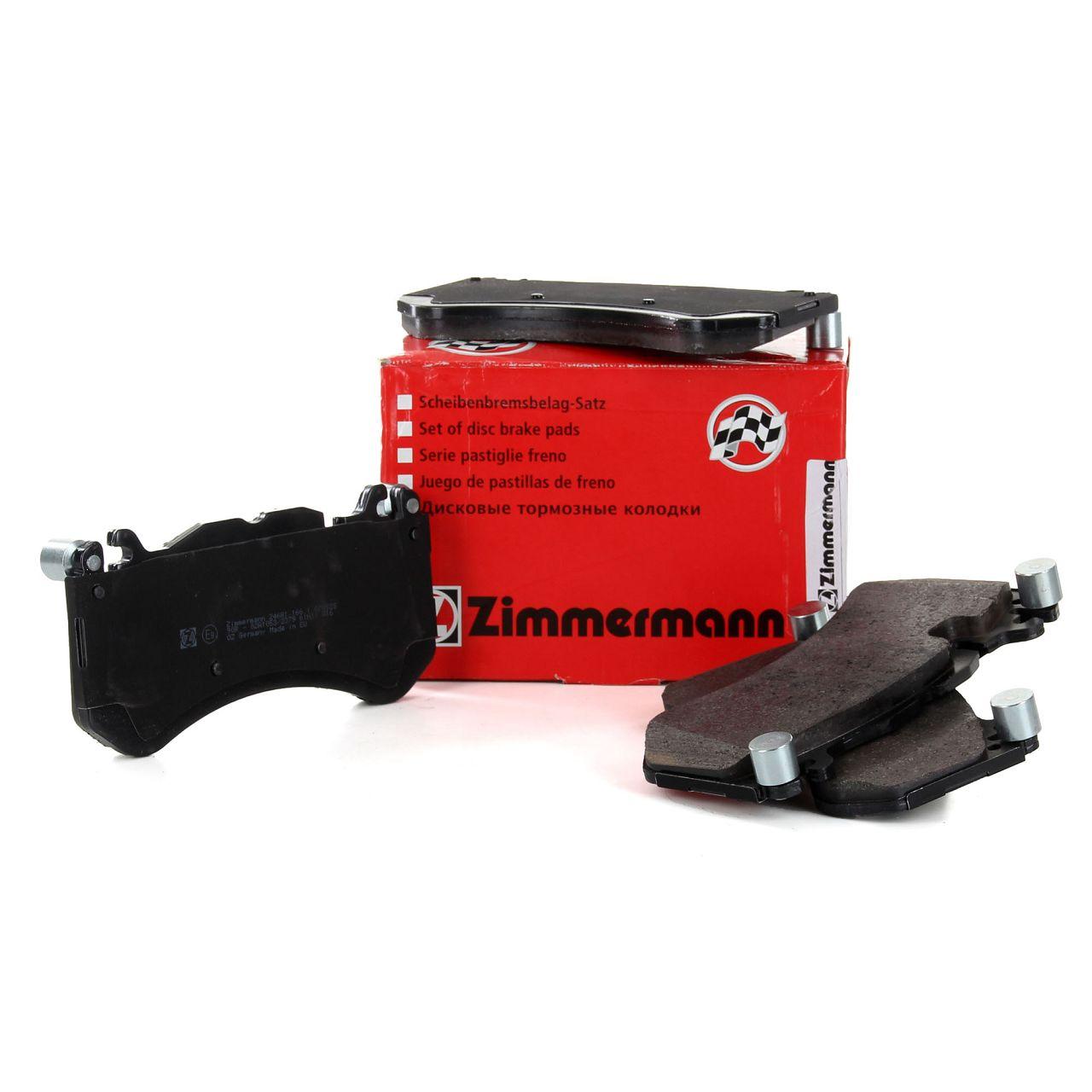 ZIMMERMANN Bremsbeläge Bremsklötze vorne für MERCEDES-BENZ C 63 AMG S600 CL600
