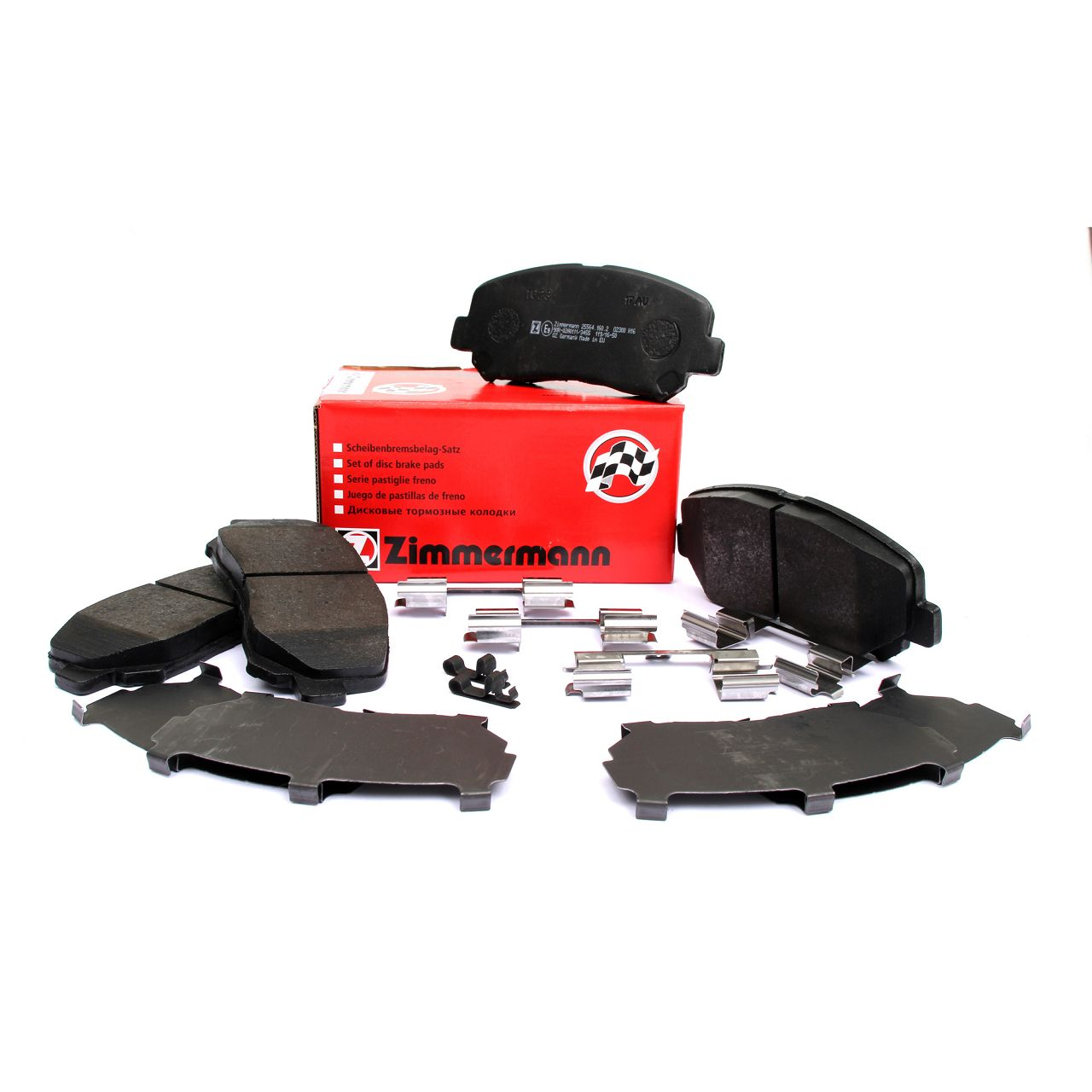 ZIMMERMANN Bremsbeläge Bremsbelagsatz für MAZDA CX-5 (KE, GH) + CX-5 (KF) vorne