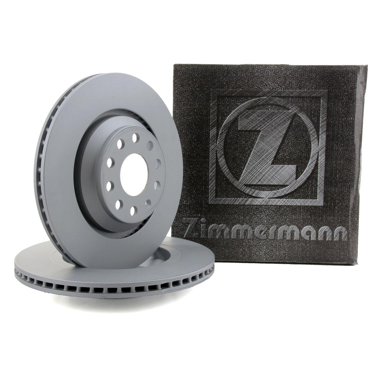 ZIMMERMANN Bremsscheiben Ø 310mm für AUDI S3 3.2 V6 LEON GOLF 5 6 7 GTI/R hinten