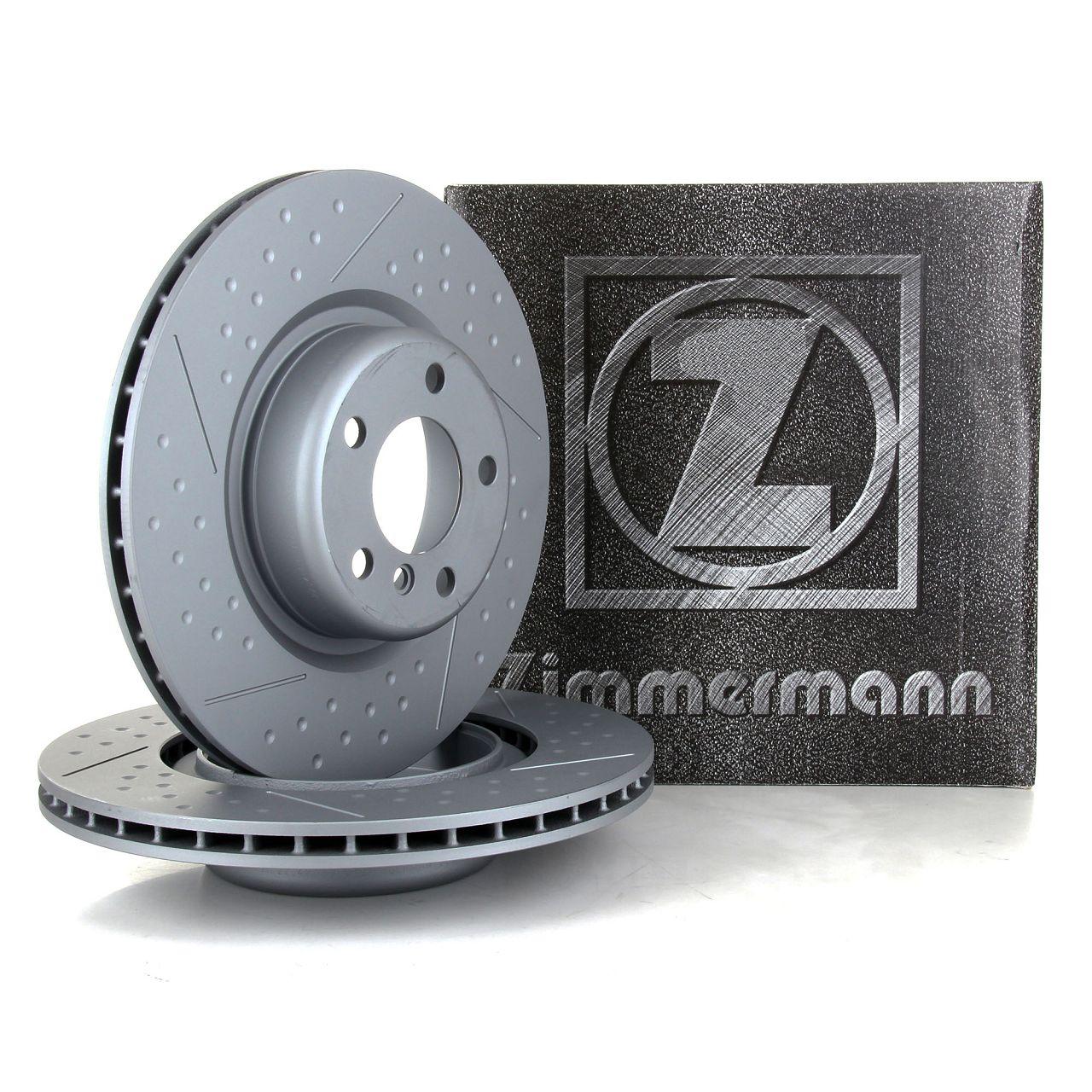 ZIMMERMANN Bremsscheiben für BMW F20 F21 F22 F23 F30 F31 F34 F32 F33 F36 hinten