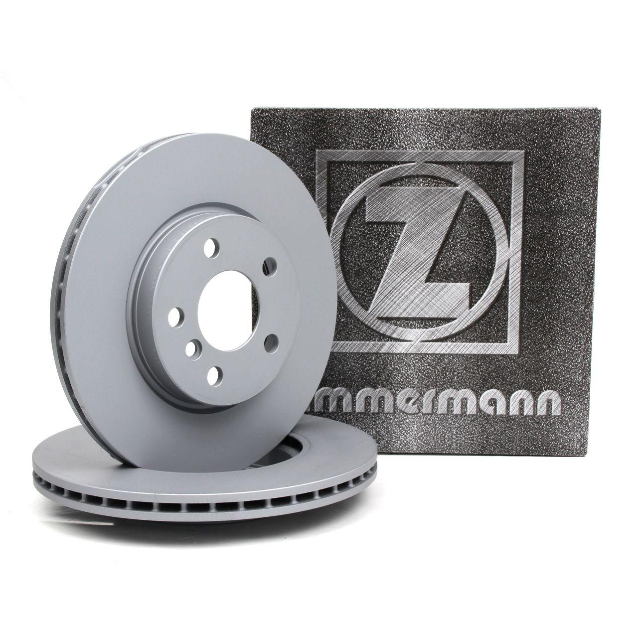 ZIMMERMANN Bremsscheiben Satz für BMW 2er F45 F46 MINI F55 F56 F57 F54 vorne