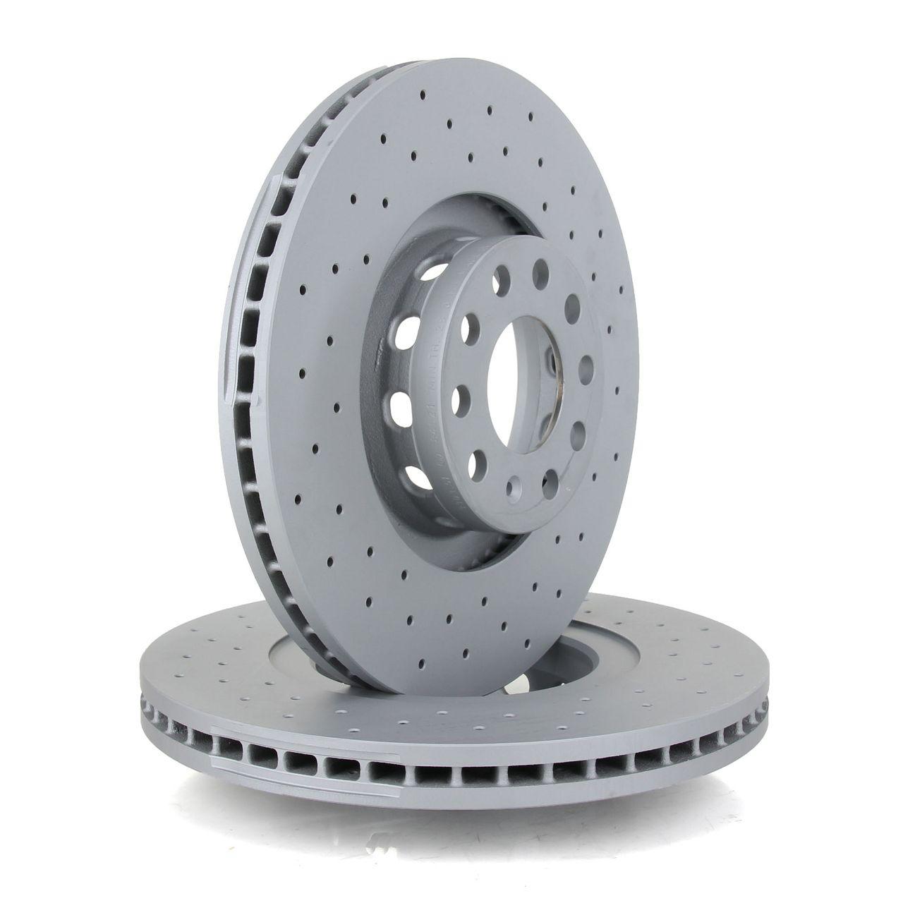 Zimmermann SPORT Bremsscheiben Beläge für AUDI A8 (4D2) 4.2 2.5TDI 3.3TDI vorne