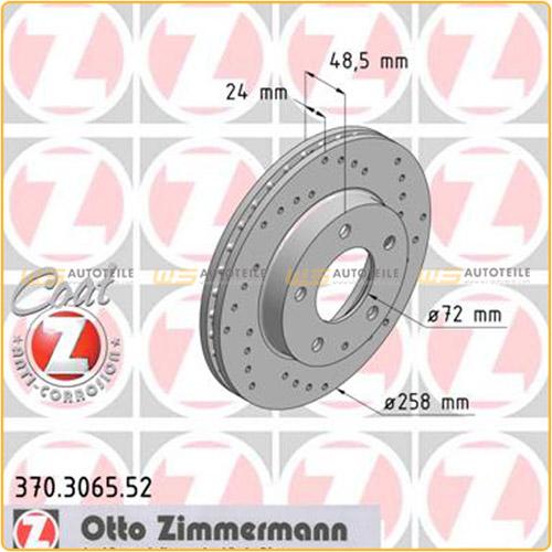 ZIMMERMANN Bremsen SPORT Bremsscheiben + Beläge für Mazda 626 V Premacy vorne