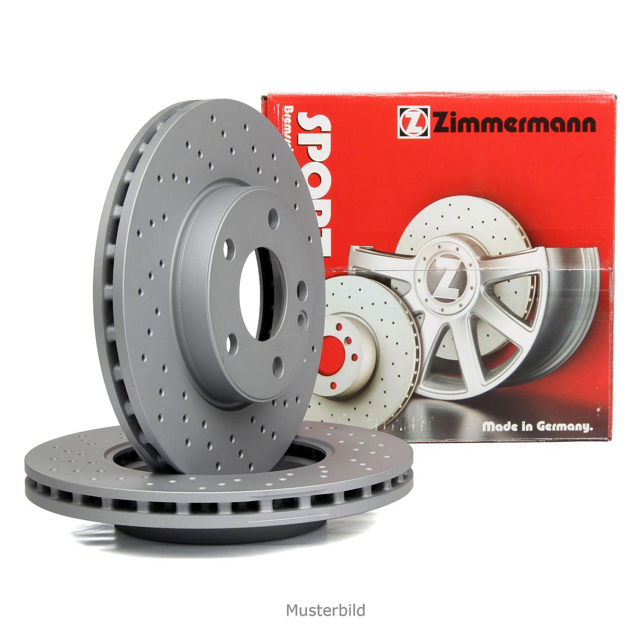 Zimmermann SPORT Bremsscheiben für BMW F20 F21 F22 F30/31/34 F32/33/36 vorne