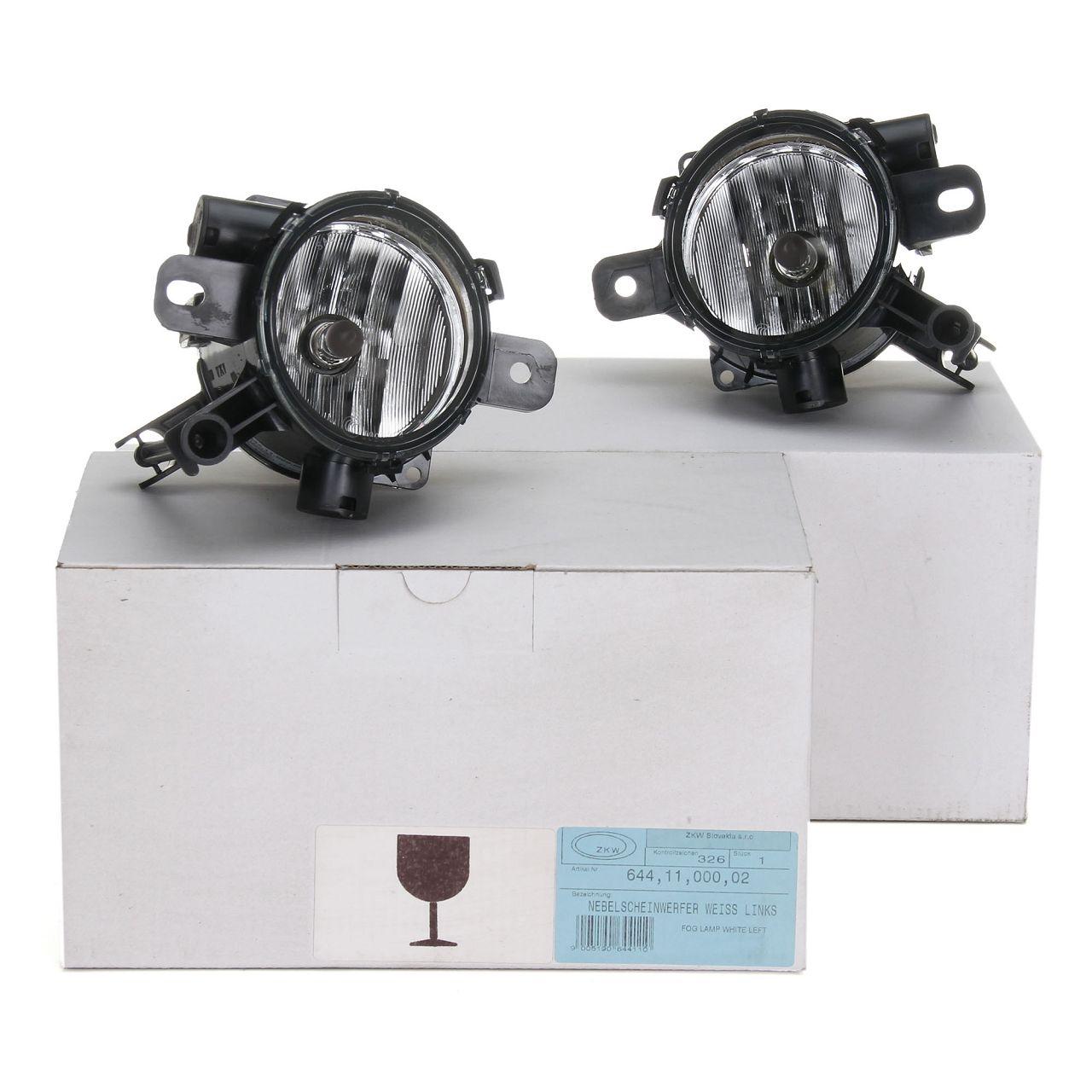 2x ZKW Nebelscheinwerfer für OPEL ZAFIRA B ab Fgst.-Nr. 82093335 links + rechts