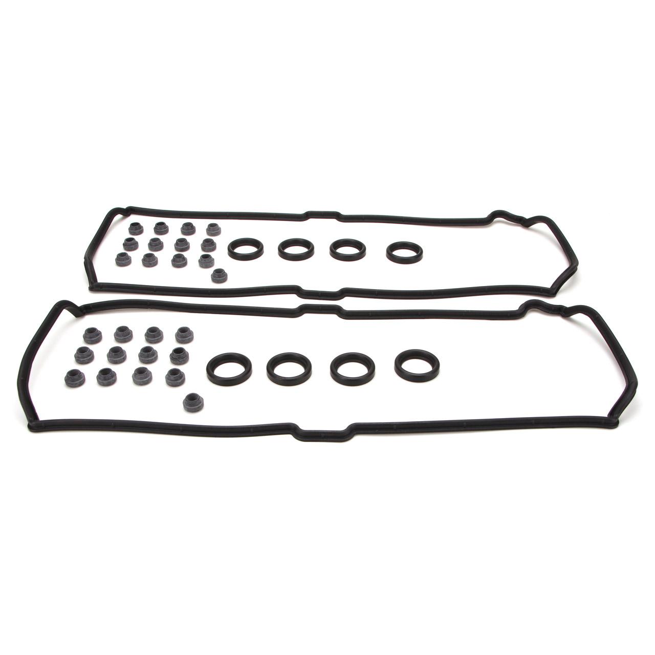 2x Ventildeckeldichtung + Dichtring + Druckring PORSCHE 928 S / GT 944 S / S2 968