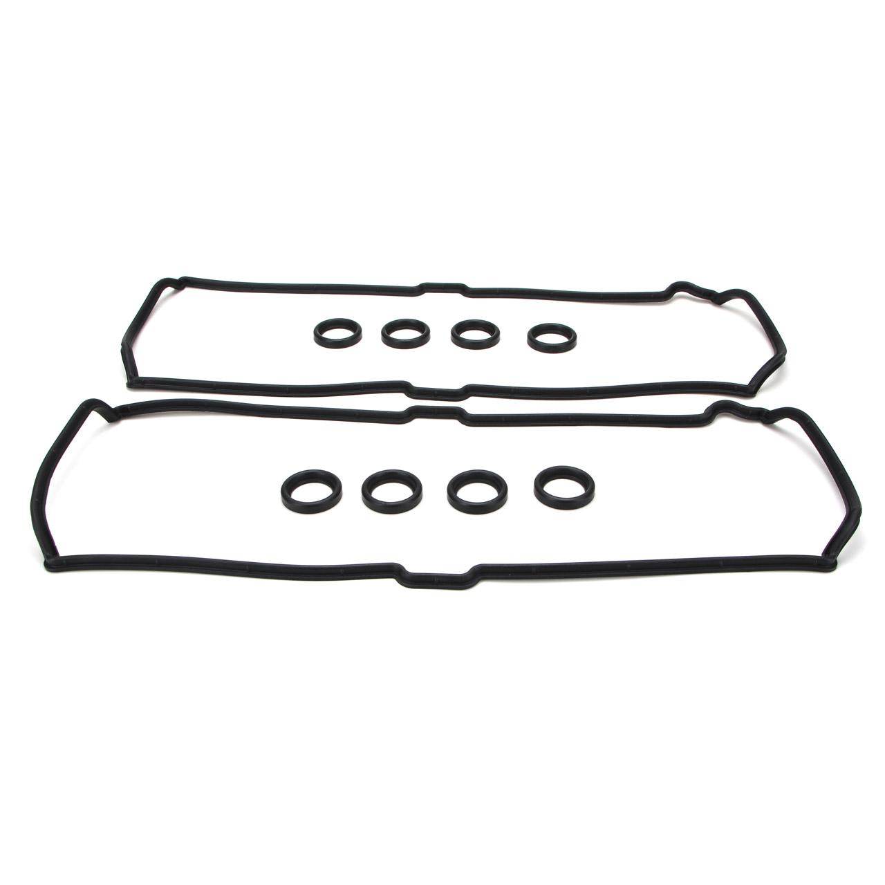 2x Ventildeckeldichtung + Kerzenschaftdichtung PORSCHE 928 S / GT 944 S / S2 968
