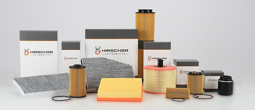 Hirscher assortment overview with filters