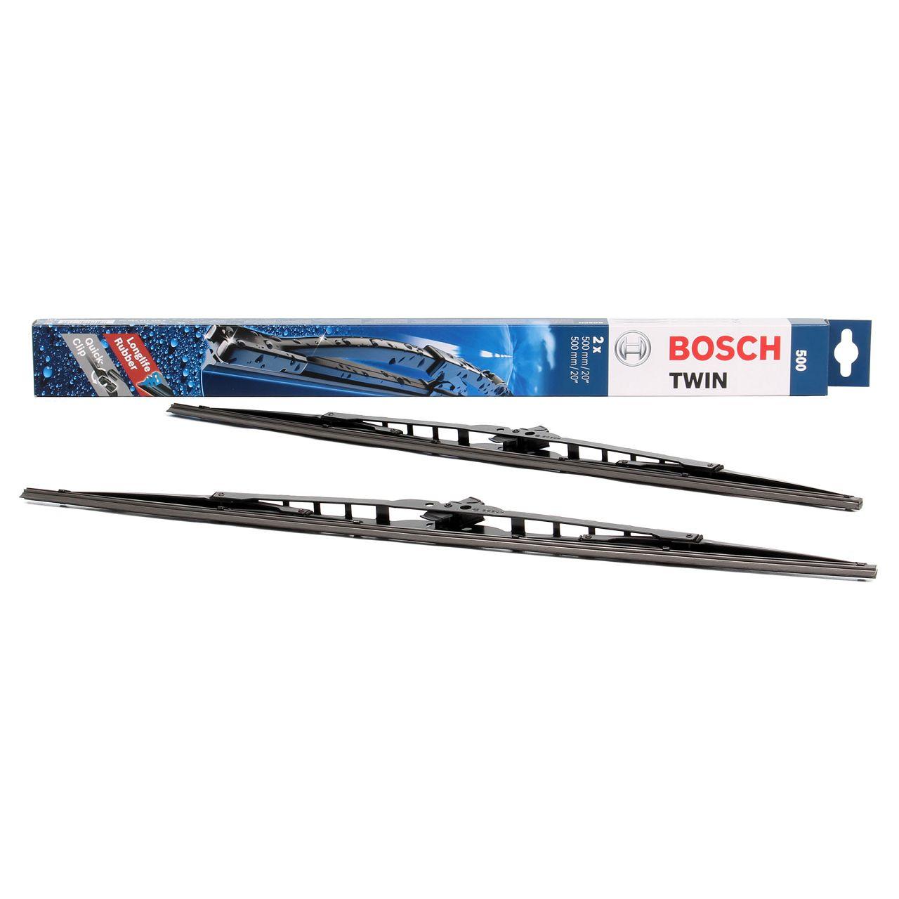 Bosch Scheibenwischer Bügelwischer TWIN 500 2x 500mm