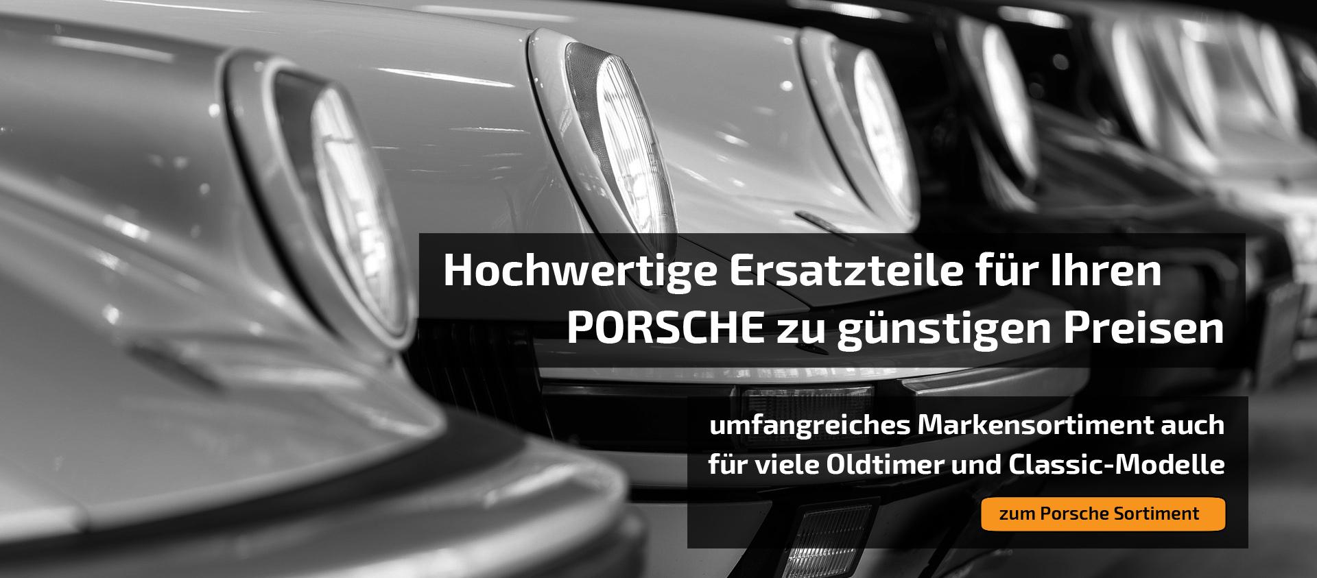Headerbild für Porsche Ersatzteile
